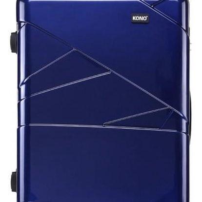 Cestovní střední námořnicky modrý kufr Paddy 1772L