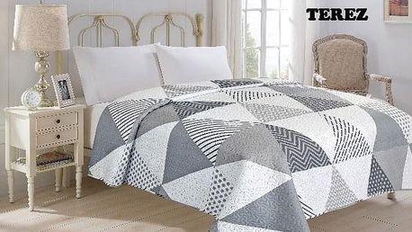 JAHU TEREZ Přehoz přes postel 220 x 240 cm