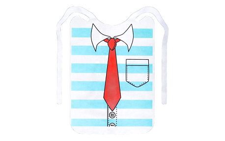 Bryndák pro dospělé, 6 ks - barva modrá, WENKO
