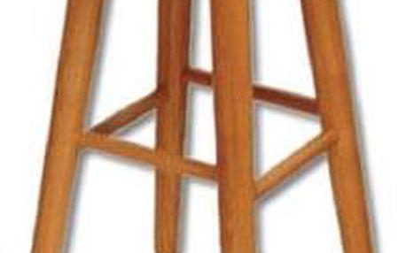 Barová stolička KT242 masiv olše