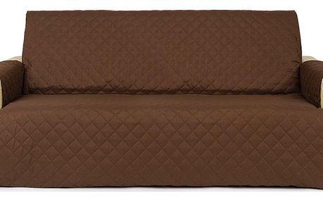 4Home Přehoz na sedací soupravu Doubleface hnědá/béžová, 180 x 220 cm