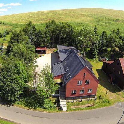 Krušné hory: Apartmány IVA - Klínovec