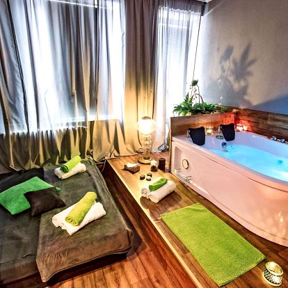 Privátní vířivka nebo i masáž a regenerační zábal