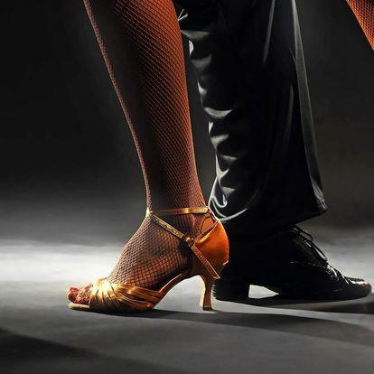 3 lekce společenských tanců pro pár