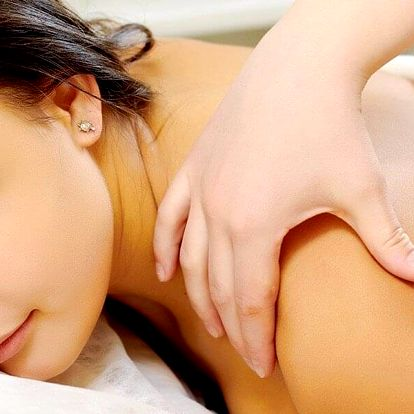 60minutová relaxační masáž od Nevidomých masérů