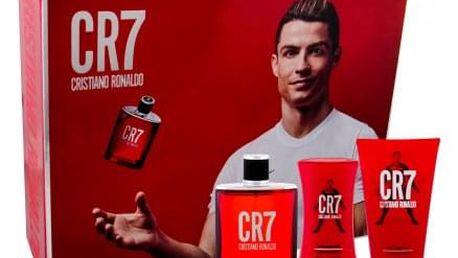 Cristiano Ronaldo CR7 dárková kazeta pro muže toaletní voda 100 ml + sprchový gel 150 ml + balzám po holení 100 ml