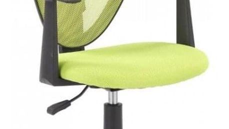 Dětská otočná židle STRAKOŠ Spike - zelená