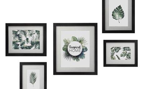 Atmosphera Créateur d'intérieur Dřevěné fotorámečky, fotorámečky, fotorámečky na stěnu, rámy na fotografie, sada rámečků, dřevěné rámečky