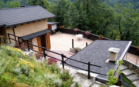 Itálie - Piemont: Chalet Le Terrazze