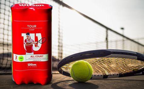 8 tenisových míčků Wilson ve dvojbalení