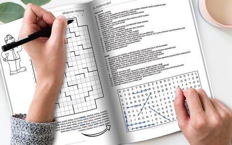 Křížovky, sudoku i omalovánky na 100 stranách