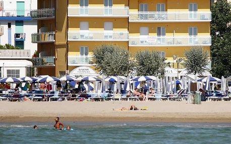 Itálie, Caorle: Hotel Villa Olga