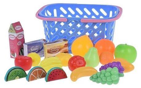 Koopman Dětský hrací set Jdeme nakupovat, modrá