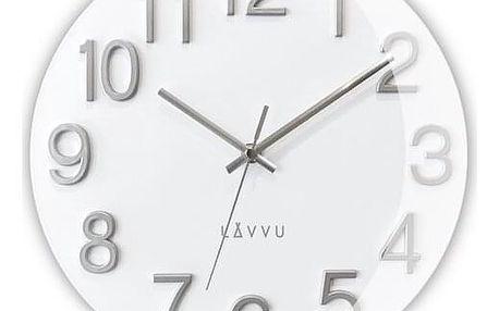 LAVVU NORD White LCT1061 Nástěnné hodiny