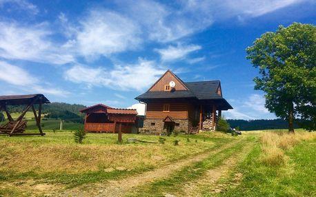 Chalupa Daniel poblíž Stezky korunami stromů Slovensko