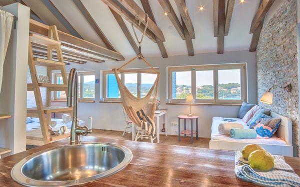 Studiový apartmán s výhledem na moře2