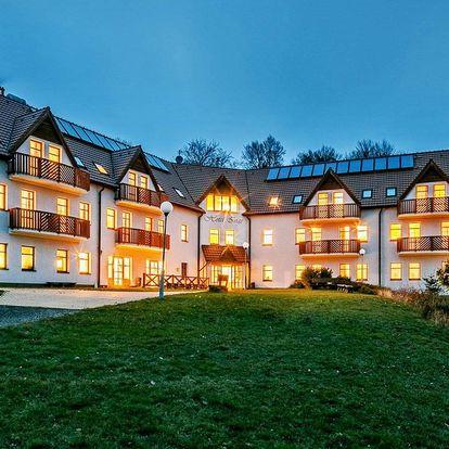 Nový hotel v Krušných horách s wellness a polopenzí