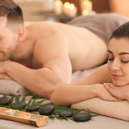 Hýčkání pro 2: párová masáž dle výběru ze 6 druhů
