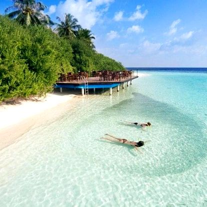 Maledivy - Kaafu Atol na 10 dní, plná penze s dopravou letecky z Prahy, Kaafu Atol