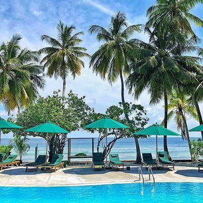 Maledivy - na 9 až 10 dní, polopenze s dopravou letecky z Prahy