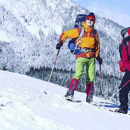 Zimní procházka na sněžnicích s průvodcem