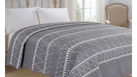 Jahu Přehoz na postel Inéz šedá, 220 x 240 cm