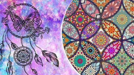 Buďte kreativní a vytvořte si obraz mandaly metodou barevných krystalků