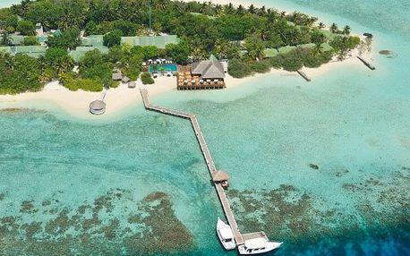Maledivy - na 8 až 10 dní, polopenze nebo bez stravy s dopravou letecky z Prahy