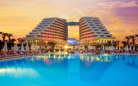 Turecko - Antalya na 8 dní, all inclusive nebo s dopravou letecky z Prahy, Antalya