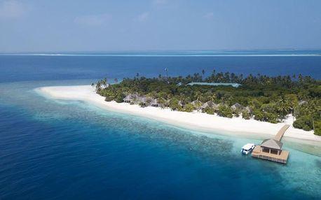 Maledivy - na 10 dní, polopenze s dopravou letecky z Prahy