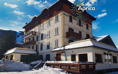 Itálie - Aprica na 5 až 6 dní, polopenze s dopravou autobusem, Aprica