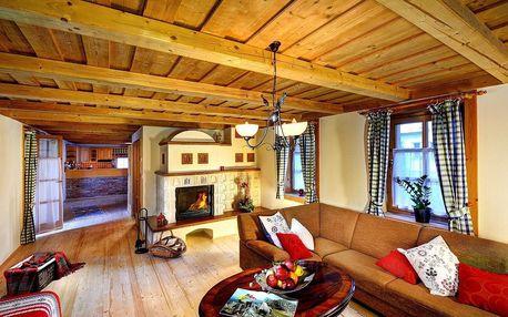 Objevujte krásy Kvačianskej doliny v moderně vybavené horské chatě až pro 12 osob
