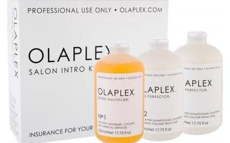 Olaplex Bond Multiplier No. 1 Salon Intro Kit dárková kazeta pro ženy Bond Multiplier No. 1 525 ml + Bond Perfector No. 2 2 x 525 ml + dávkovač Dosing Dispenser 1 ks