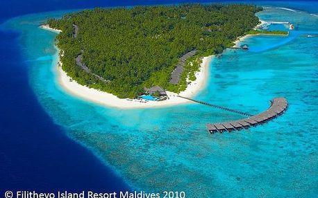 Maledivy - na 10 dní, polopenze nebo snídaně s dopravou letecky z Prahy