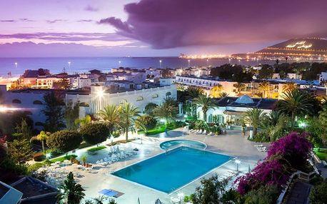 Maroko - Agadir na 8 dní, polopenze nebo all inclusive s dopravou letecky z Prahy, Agadir