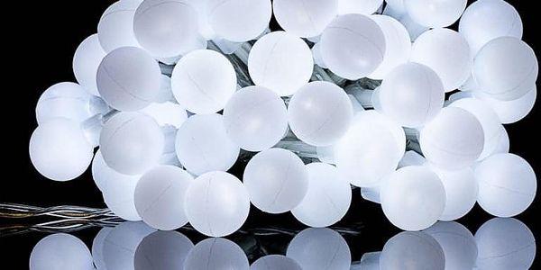 VOLTRONIC® Párty osvětlení - 5 m, 50 LED diod, studeně bílé, na baterie3