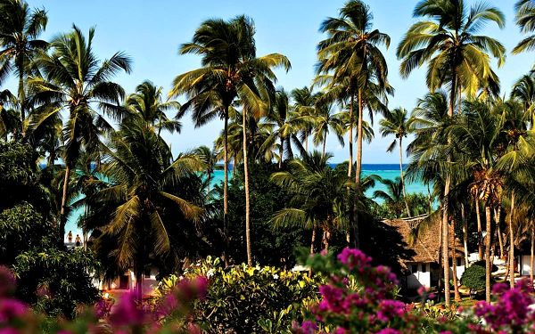 Hotel Diamonds Mapenzi Beach Club, Zanzibar, letecky, all inclusive2