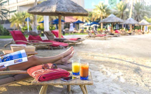 Hotel Beach Rotana, Abu Dhabi, letecky, snídaně v ceně2