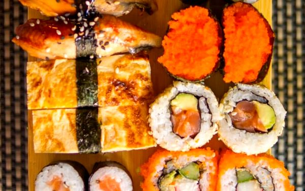 Online kurz: Jak připravit Sushi?2