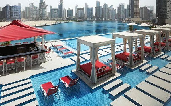 Hotel Canal Central Business Bay, Dubaj, letecky, snídaně v ceně3
