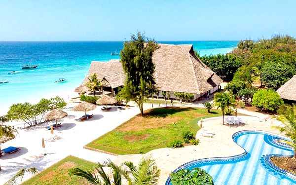 Hotel Sandies Baobab Beach, Zanzibar, letecky, all inclusive4