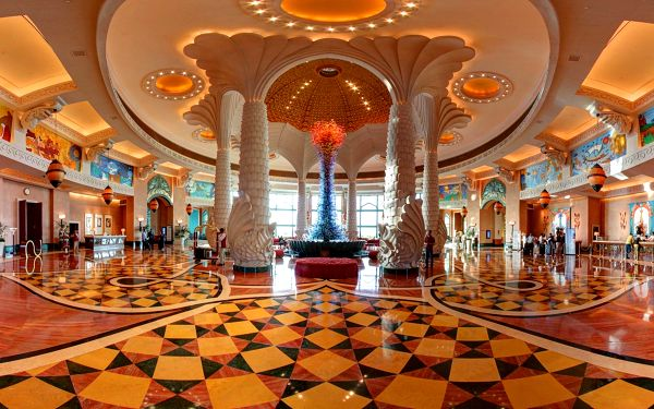 Hotel Atlantis The Palm, Dubaj, letecky, polopenze5