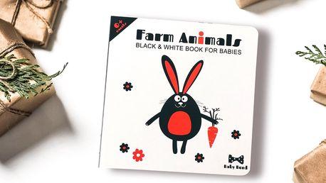Kontrastní obrázková knížka s dárkem pro miminka