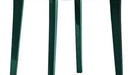 Allibert LISA 6607 Zahradní plastový stůl 90 cm zelená