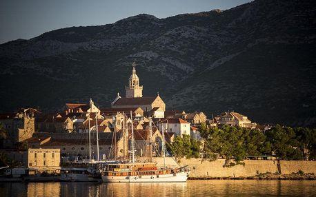 Chorvatsko - Korčula na 4-15 dnů