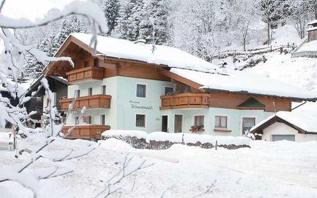 Rakousko - Saalbach - Hinterglemm na 8 dnů, snídaně v ceně