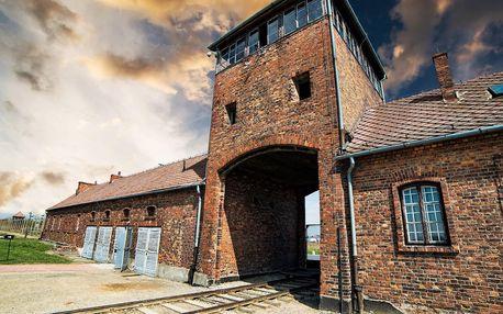 1denní návštěva táborů Auschwitz – Birkenau v Osvětimi