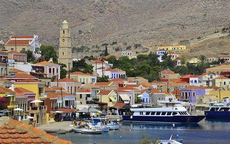 Řecko - Rhodos letecky na 9 dnů