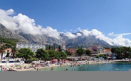 Chorvatsko - Baška Voda na 8-17 dnů