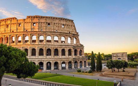 Zájezd na 5 dní do Říma a Jižní Itáli s ubytováním v hotelu se snídaní